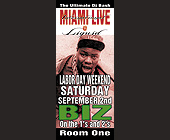 Miami Live at Liquid - created August 15, 2000