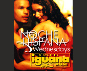 Noche Hispana Wednesday at Cafe Iguana Miami - tagged with live broadcast
