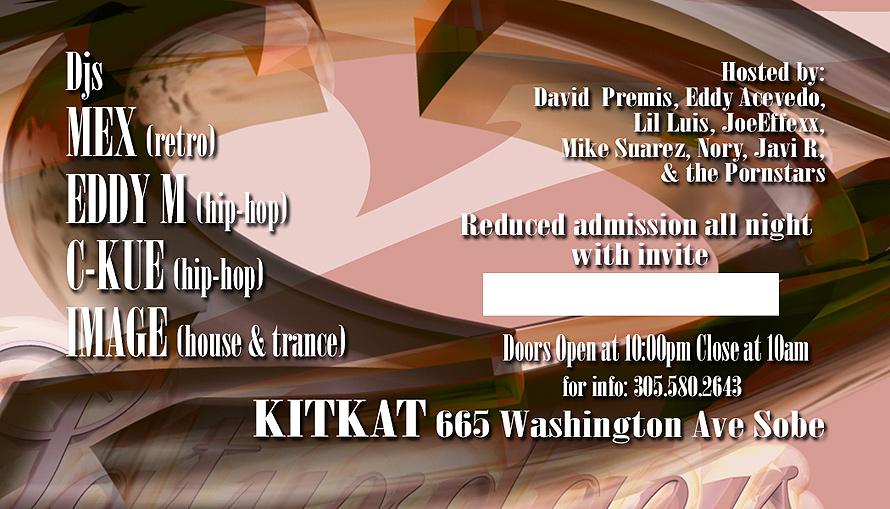 Secret Saturdays at Kit Kat