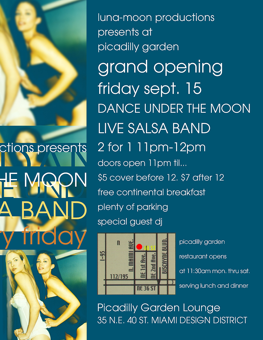 Dance Under the Moon at Picadilly Moon