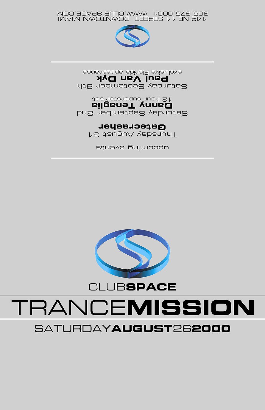 Transmission at Club Space