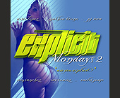 Explicit Mondays at The Chili Pepper in Coconut Grove - 1050x1050 graphic design