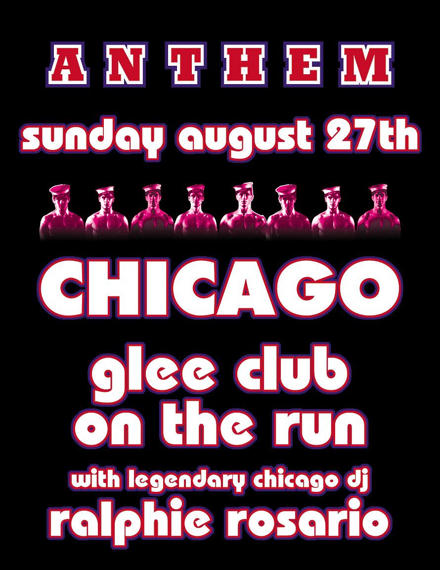 Anthem Chicago Glee Club on the Run