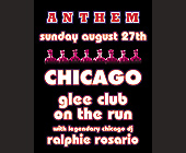 Anthem Chicago Glee Club on the Run - Nightclub