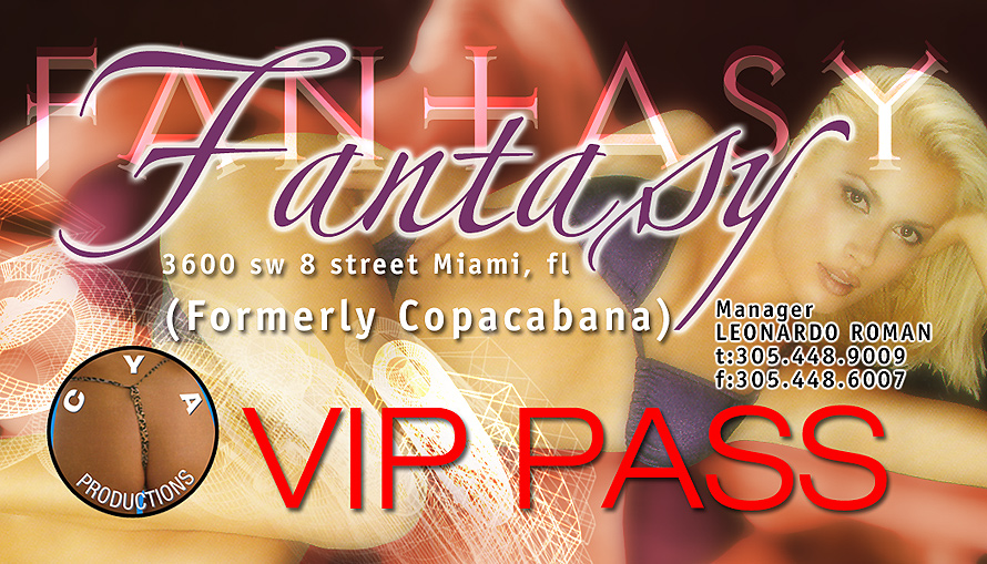 Fantasy Club VIP Pass