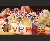 Fantasy Club VIP Pass - tagged with vip pass