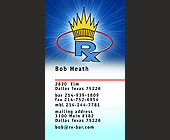RX Bar Business Card - Dallas Graphic Designs