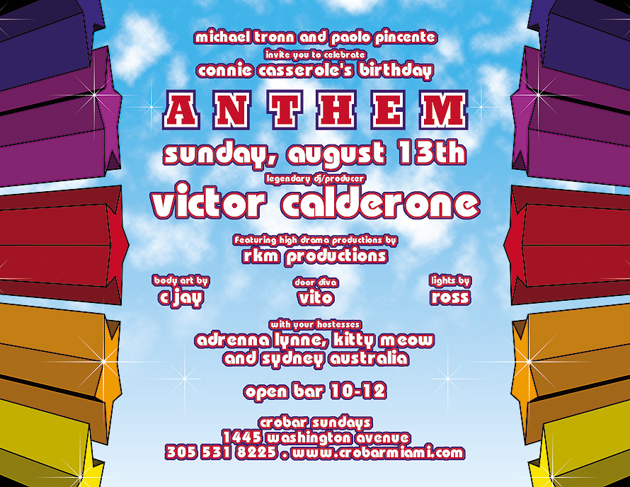 Anthem Victor Calderon at Crobar