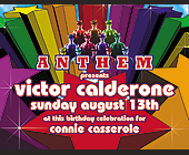 Anthem Victor Calderon at Crobar - tagged with invite you to celebrate