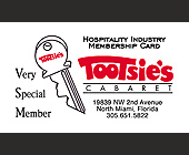 Tootsie's Very Special Member - tagged with promotion