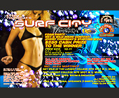 Surf City at Club 5922 - Club 5922 Graphic Designs