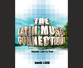 The Latin Music Connection - 1131x1463 graphic design