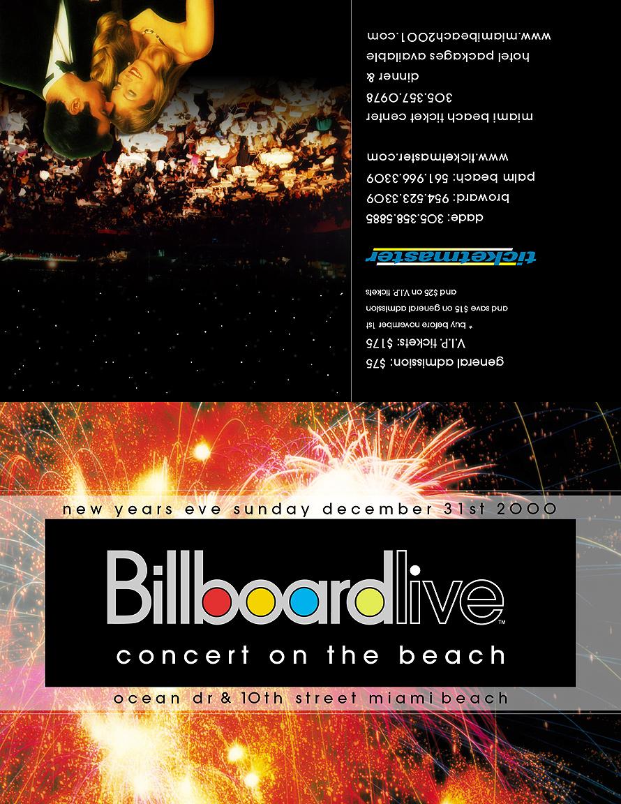 Billboard Live Concert on the Beach