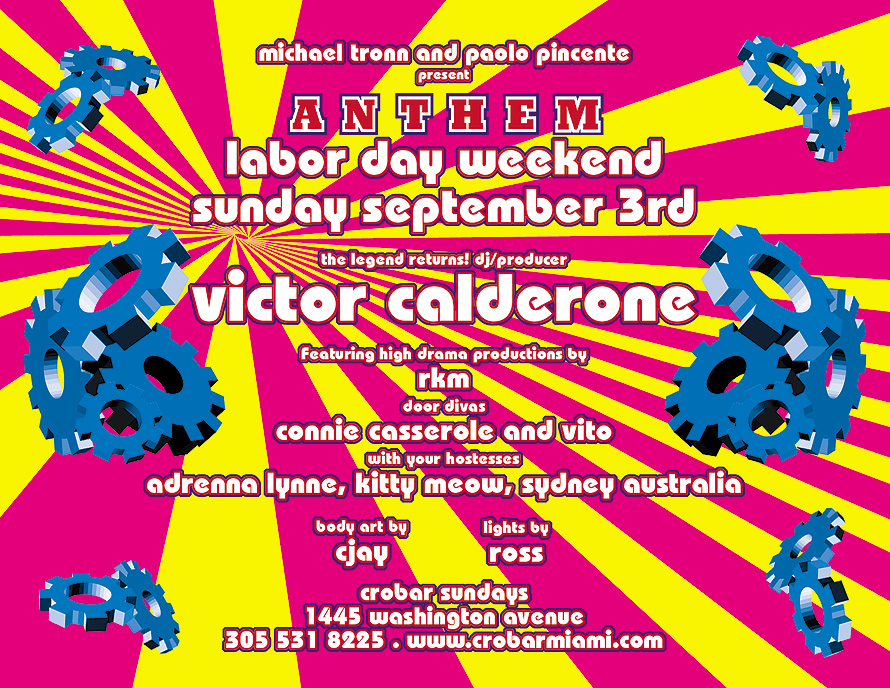Anthem Labor Day at Crobar
