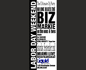 Biz Markie at Liquid Nightclub - tagged with tek life