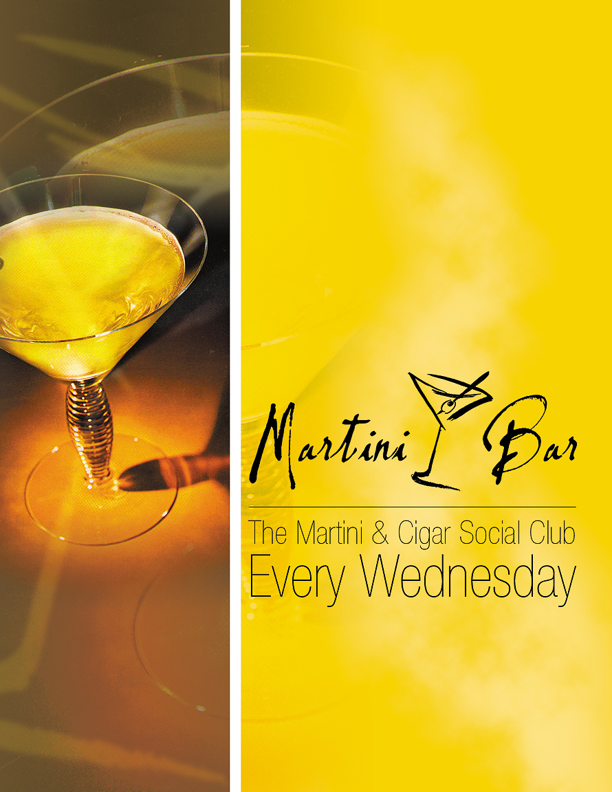 The Martini and Cigar Social Club at The Martini Bar