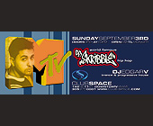 DJ Skribble at Club Space - 1050x2550 graphic design