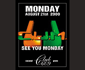 See You Monday C.U.M. at Club 609 - tagged with matt richter