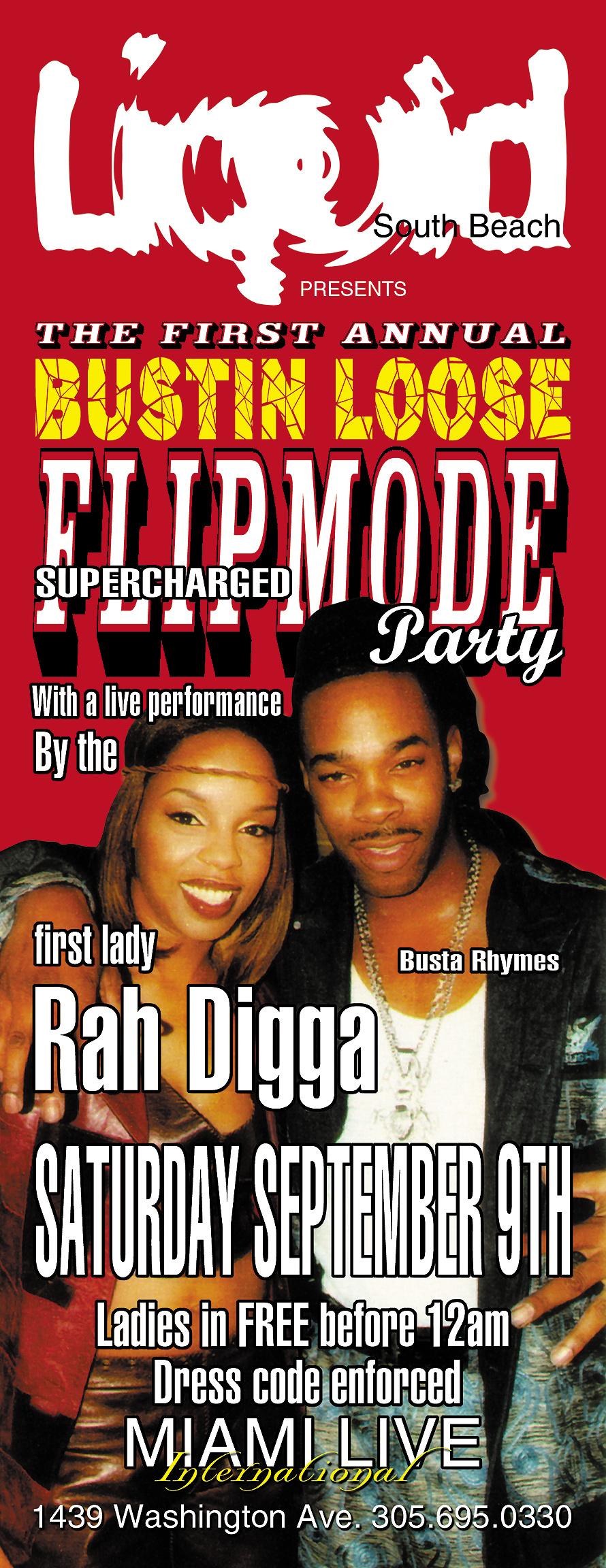 Flipmode Squad Party at Liquid Night Club