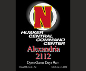 Husker Central Command Center at Alexandria 2112 - Nebraska Graphic Designs