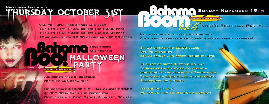 Bahama Boom Beach Club