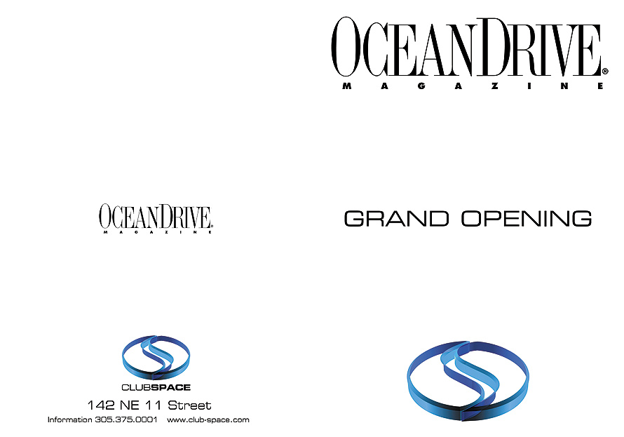 Club Space Ocean Drive Magazine