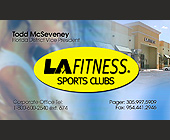 LA Fitness Sports Club - tagged with fort lauderdale