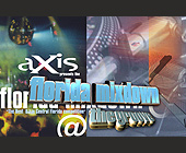 Axis Mixdown Event at The Groove - The Groove Lounge Graphic Designs