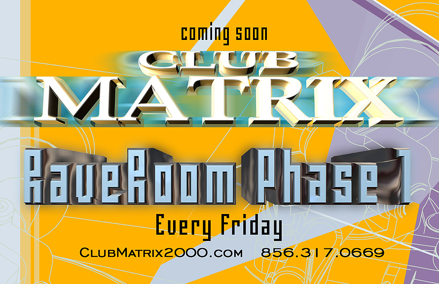 Rave Room at Club Matrix