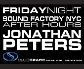 Sound Factory NYC After Hours - tagged with jonathan