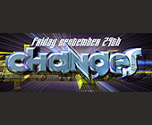 Friday September Changes Event at Club Fantasy - 2926x1131 graphic design