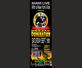 Miami Live at Liquid - created September 2000
