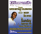 Super Birthday Celebration for Woody at The Chili Pepper in Coconut Grove - Rascals Graphic Designs