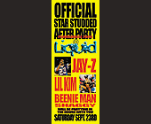 Star Studded After Party at Liquid Nightclub - 2750x1063 graphic design