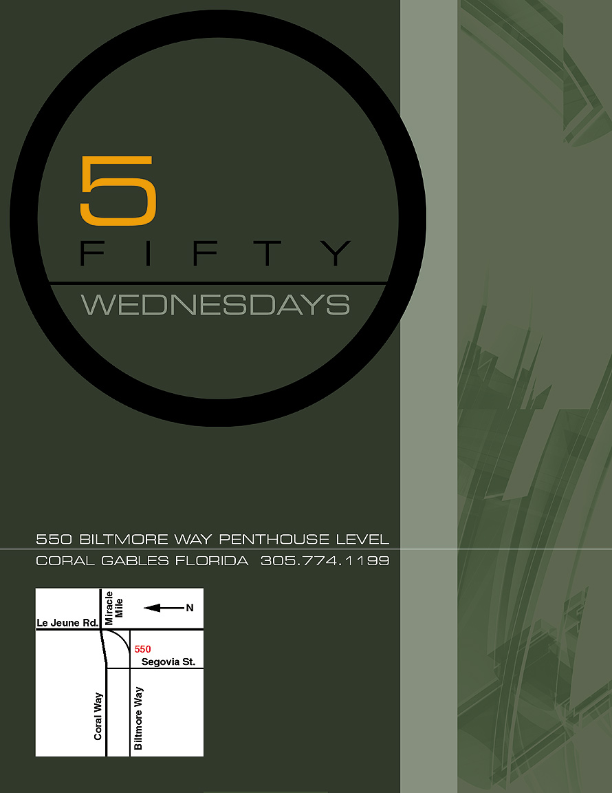 5 Fifty Wednesdays at the Penthouse Level