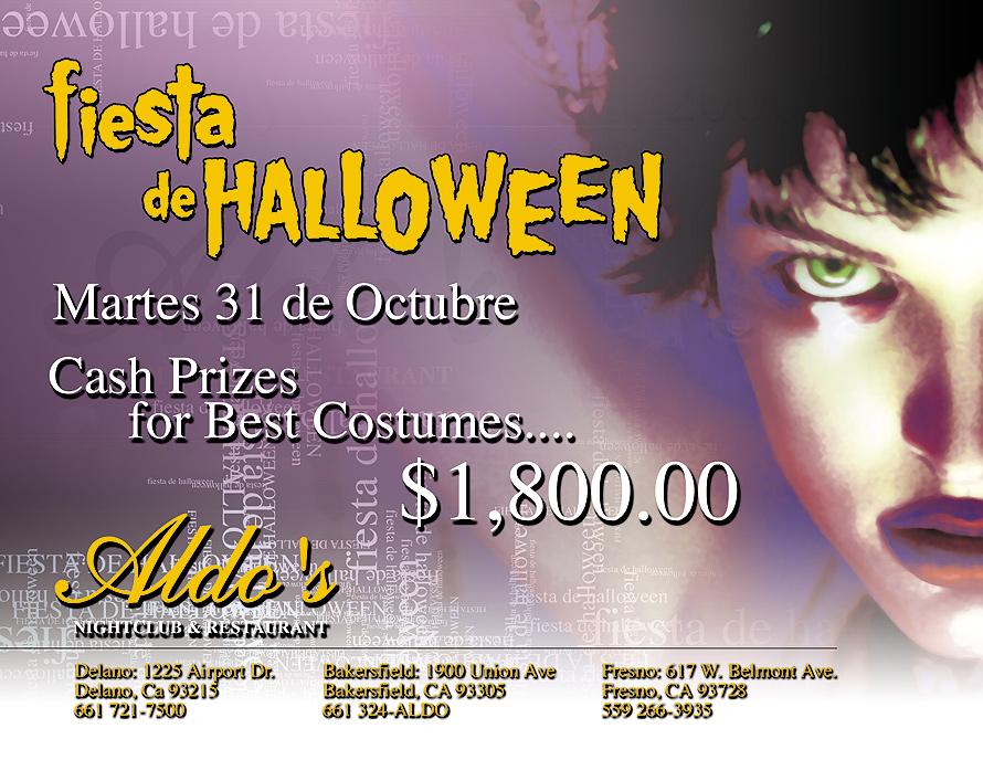 Fiesta de Halloween at Aldo's