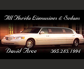 All Florida Limousines and Sedans - 538x913 graphic design