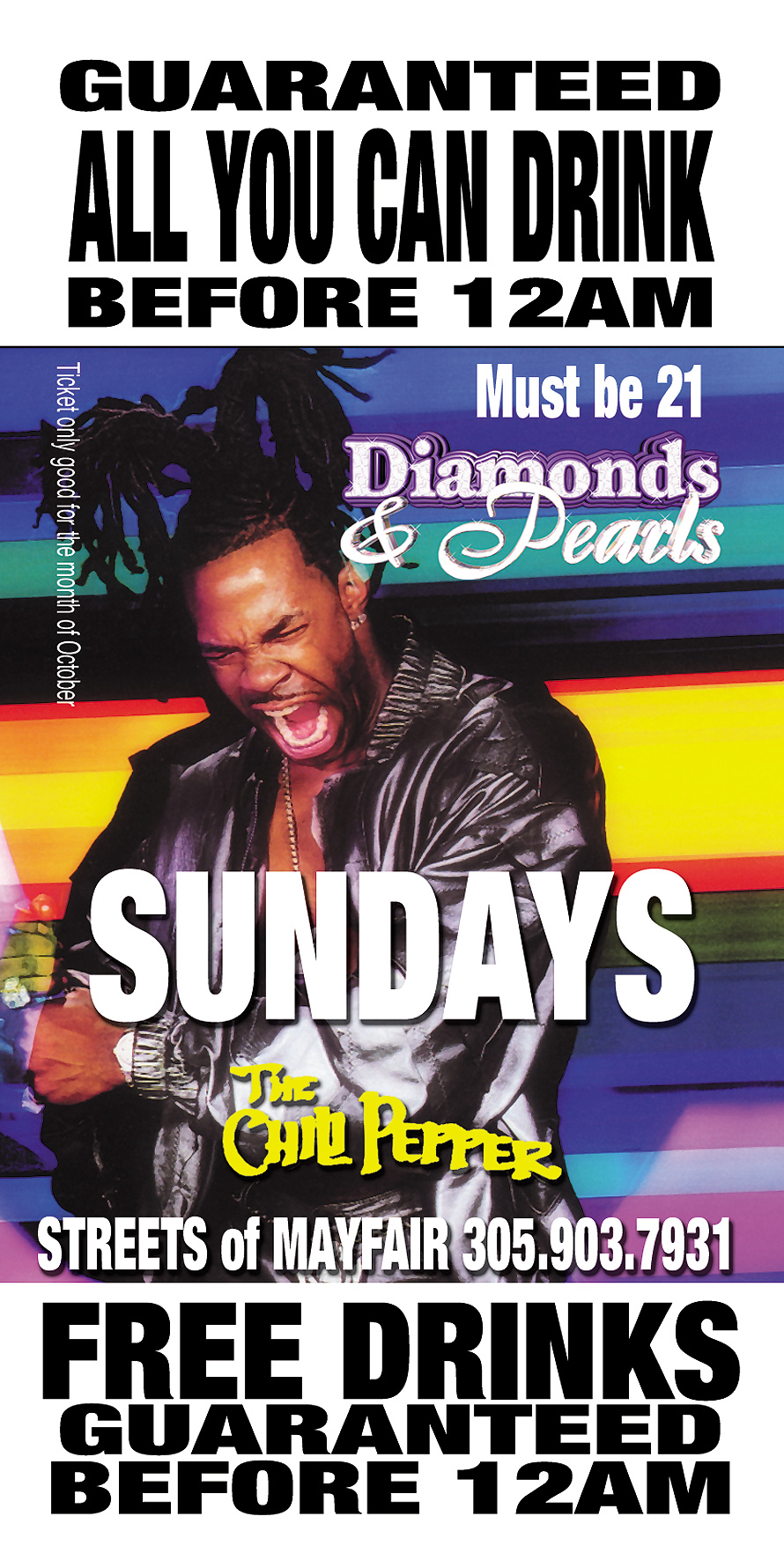 Diamonds and Pearls Sundays at The Chili Pepper
