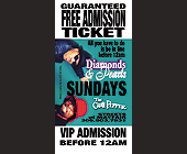 Diamonds and Pearls Sundays at The Chili Pepper - 825x1650 graphic design
