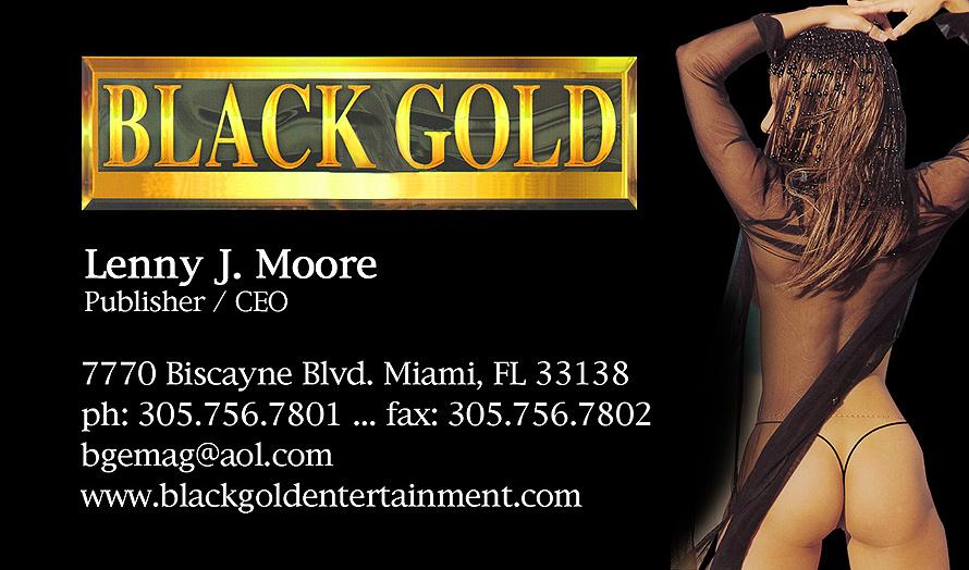 Black Gold Entertainment Inc.