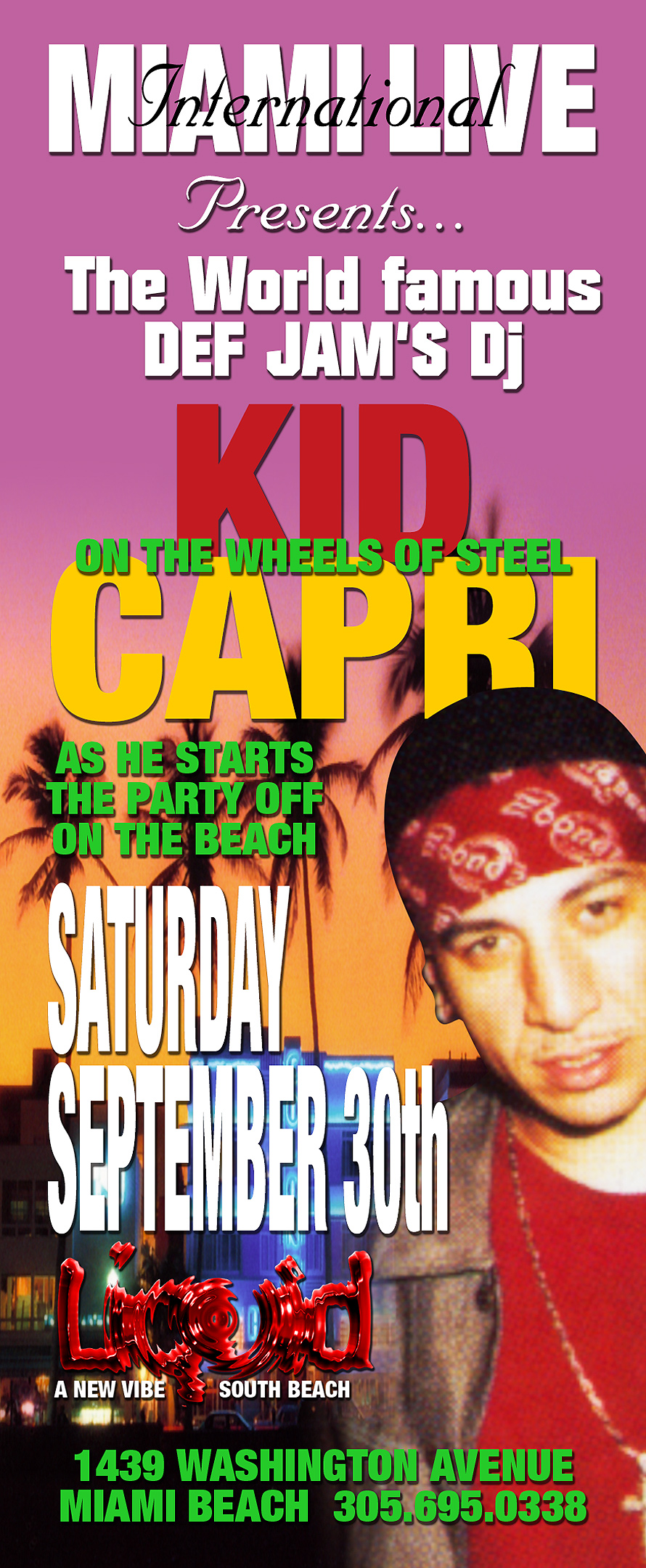 Kid Capri at Liquid Nightclub