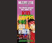 Kid Capri at Liquid Nightclub - created September 2000