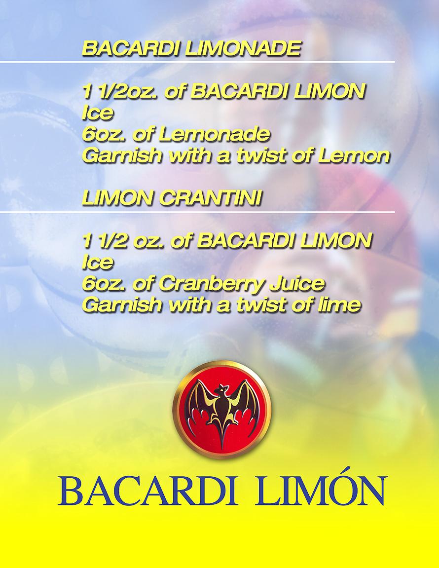 Bacardi Limondade Stadium Drink Pass