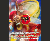 Bacardi Limondade Stadium Drink Pass - created September 22, 2000