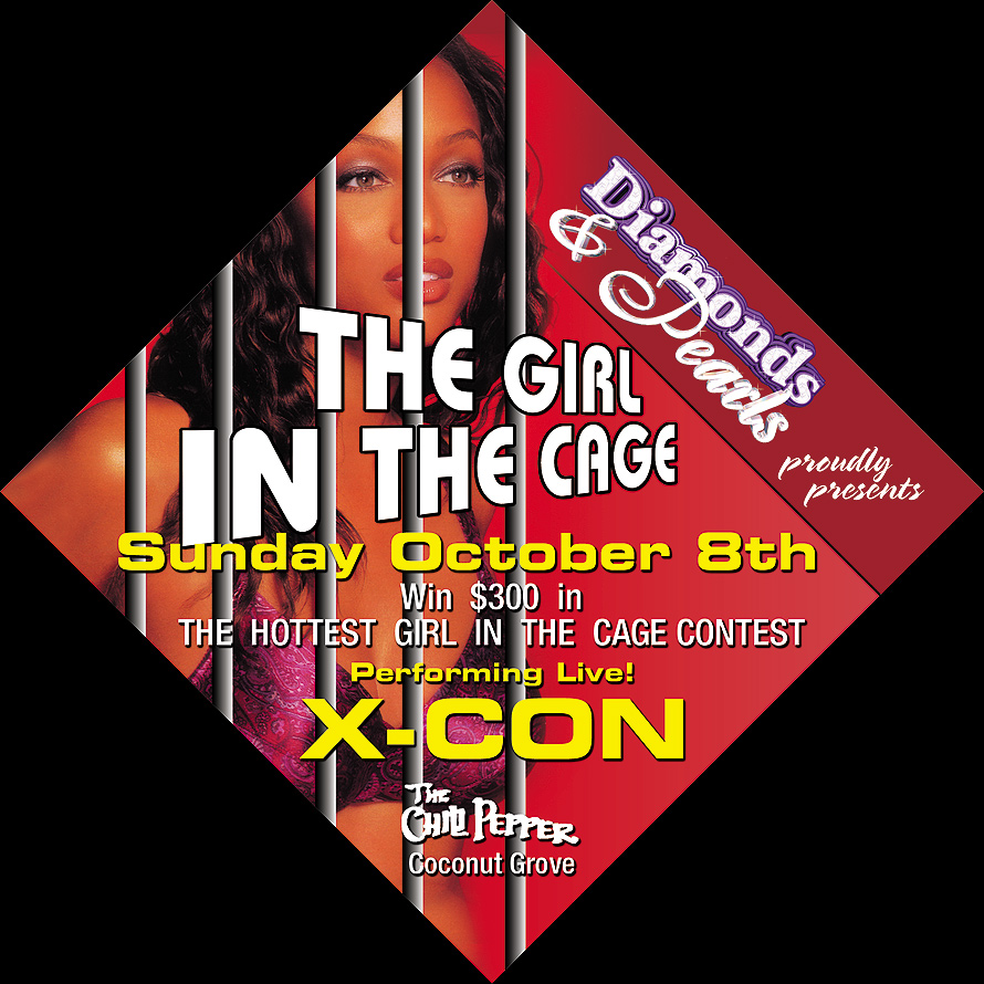 The Girl in the Cage Event at The Chili Pepper