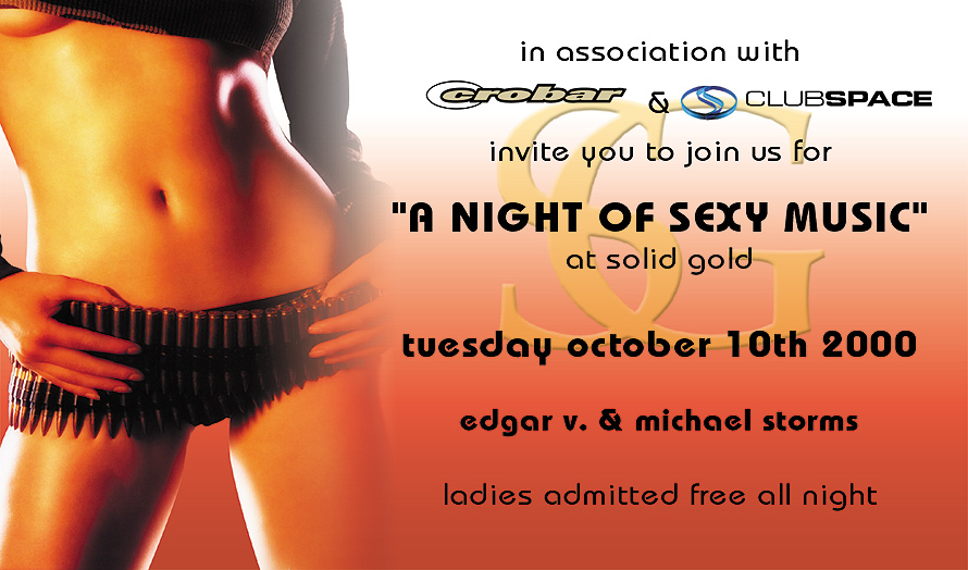 A Night of Sexy Music at Solid Gold Strip Club