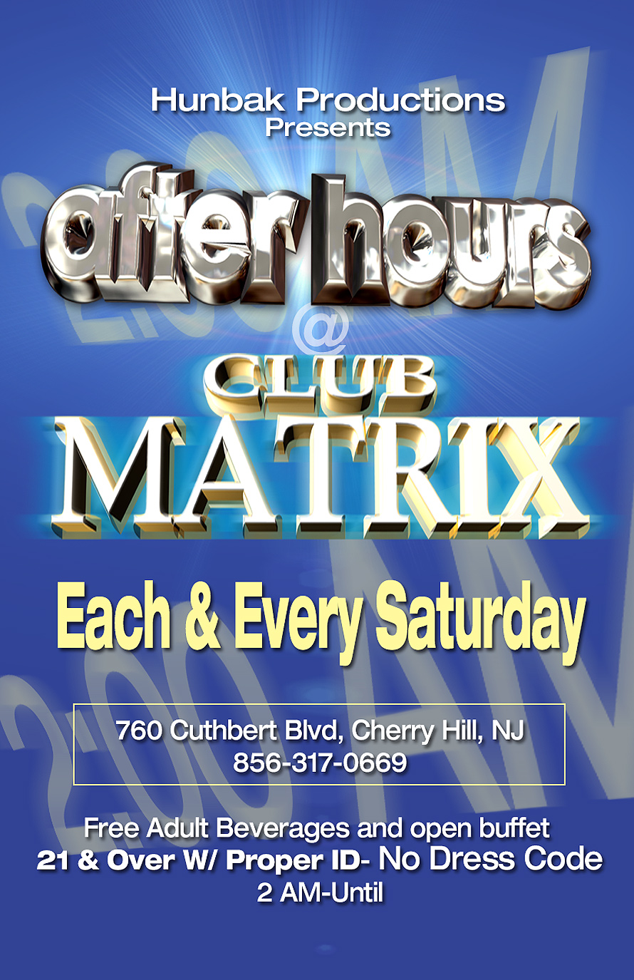 After Hours at Club Matrix