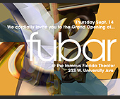 Fubar at Florida Theater - Flyer Printing