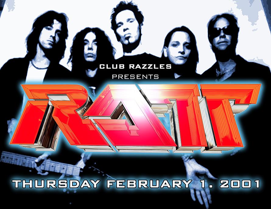Club Razzles Presents RATT