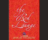 The Red Lounge at Club Space - tagged with geometric